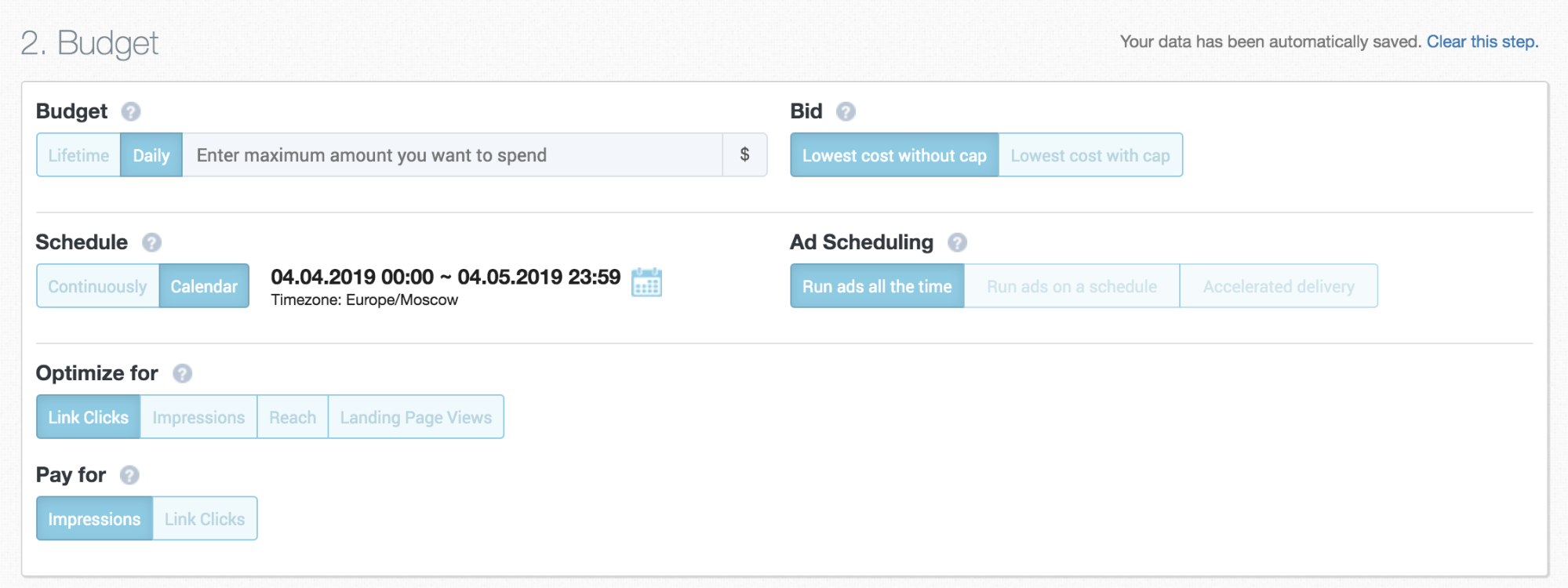 Creating Ad Campaigns with Aitarget Tool: Setting up Your