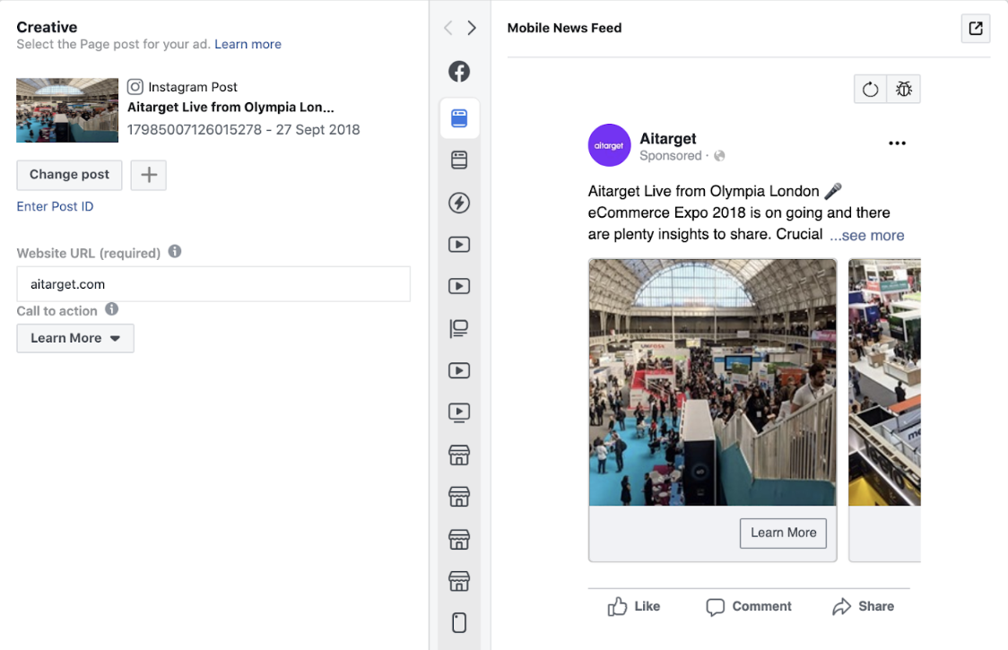 How to boost your organic Carousel posts on Instagram with Ads Manager